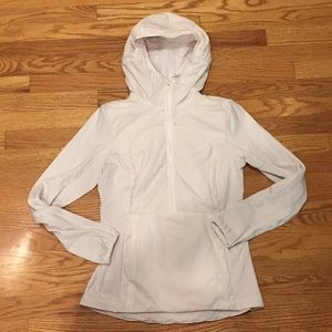 Lululemon Run for Cold Half Zip Pullover Size 6